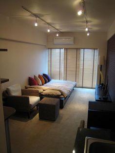 あこがれのホテルの様な部屋 : 真似したくなる!一人暮らしインテリア 1K・ワンルームレイアウト【女子部屋】 - NAVER まとめ