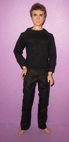 Barbie Divergent Collector Jointed Male Doll Four Ken Doll for OOAK or Play | eBay