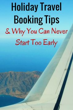 It's never to early to book your flight home for the holidays. Tips and tricks…
