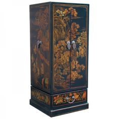 Chinese Leatherette CD Cabinet Chinese Furniture, Cabinet Styles, Chinese Antiques, Filing Cabinet, Tall Cabinet Storage, Cabinets, Home Decor, Armoires, Decoration Home