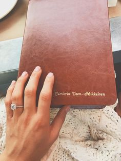 Engraved Bible with the new last name