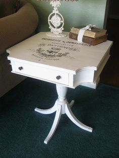 French Transfers on furniture
