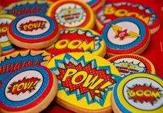 biscoitos de super-herói