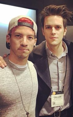 Josh Dun and Dallon Weekes.