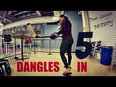 [DANGLES IN 5] Stick Handling drills to improve your 'DANGLE' game - YouTube