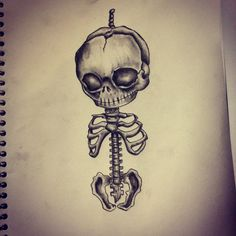 skeleton drawing tumblr - Поиск в Google