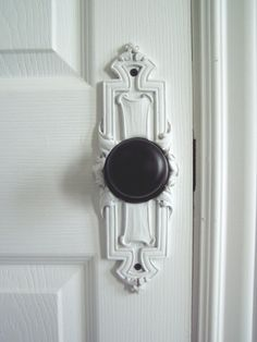 Beaux-Artes Door Knob Escutcheons work with existing hardware