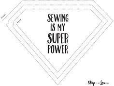 Printable sewing practice sheet. Learn how to sew- for kids and adults!