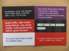 Writing Inspiration - Mini Cards