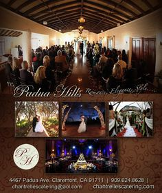 Looking for a beautiful winter wedding? January - March 2014 promotions going on now. at Padua Hills Theatre