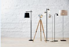 Create a focal point of your living area with these stylish floor lamps