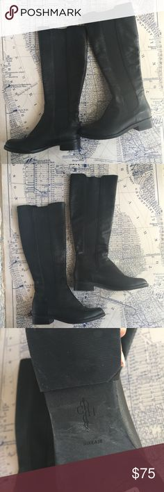 Cole Haan Leather Boots Cole Haan Leather Boots. In great used condition. These have the Nike Air Technology so they are comfy! Classic style they would look good with jeans or a skirt and will be fashionable for many years. Cole Haan Shoes Winter & Rain Boots