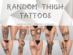 My Sims 4 Blog: Tattoos - Female
