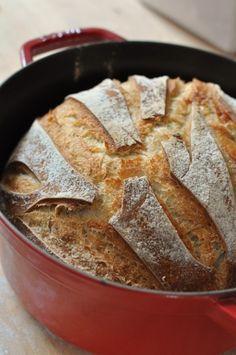 Pain au levain cuisson en cocotte - Blog de cuisine créative, recettes / popotte…