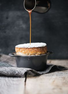 """This recipe will get a """"wow"""" for sure: Apple Pie Soufflé and Salted Caramel from MARC FORGIONE"""