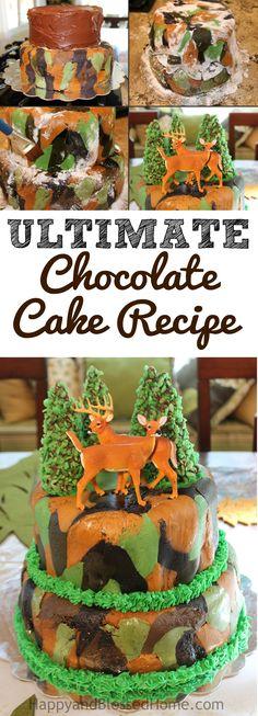 How to Bake the Perfect High Altitude Chocolate Cake Chocolate