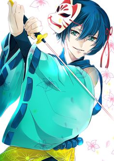 KAITO Creds by おきはる @Pixiv