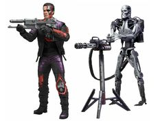 Lindsey's Toy Room - Robocop Vs Terminator - 7 Inch Action Figure - Series 1 T-800 and Endoskeleton by NECA, $34.99 (http://www.lindseystoyroom.com/robocop-vs-terminator-7-inch-action-figure-series-1-t-800-and-endoskeleton-by-neca/)
