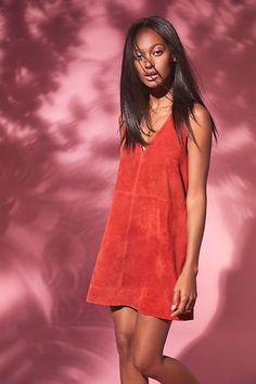 Retro Love Suede Dress | Free People