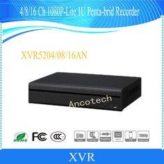 DAHUA 2017 NEW Product 4/8/16 Channel Penta-brid 1080P 1U Digital Video Recorder Without Logo XVR5204AN/XVR5208AN/XVR5216AN