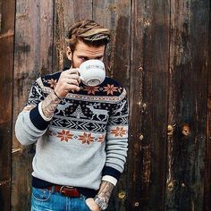 "I have to find some sweaters like this! The ""nordic style"" (I don't know how to call it) is so cool!"