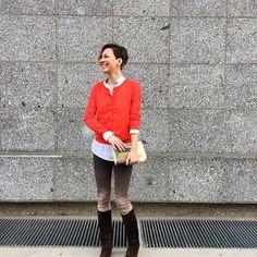 137,50€  #aymara #knitwear #madeira #red #pimacotton #cardigan available at  https://www.goodshaus.com/Strickjacke-Madeira-Rot-AYMARA