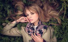 Download wallpapers Anastasiya Scheglova, beautiful girls, photomodels, beauty, blonde
