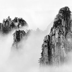 wang wusheng photography - Google Search Chinese Landscape Painting, Chinese Painting, Chinese Art, Landscape Art, Landscape Paintings, Sumi E Painting, Japan Painting, Live Action, Background Drawing