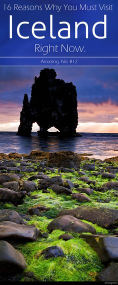 16 Reasons Why You Must Visit Iceland Right Now. Amazing no. #12 #iceland