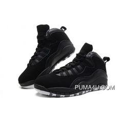 7ece3987253 Nike Air Jordan 10 Retro Black White-Stealth Online NTEZE