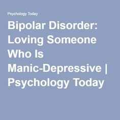 An in depth look at bipolar disorder and its management