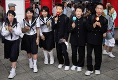 Japan introduced school uniforms in the late 19th century. Today, school uniforms are almost universal in the public and private school systems. They are also used in some women's colleges. The Japanese word for uniform is seifuku (制服)