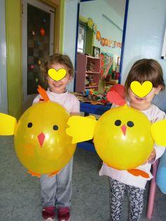 Προσχολική Παρεούλα : Κοτούλες με μπαλόνια !!!!!!!!!