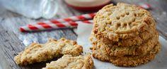 Oat & Almond Crumble Cookies