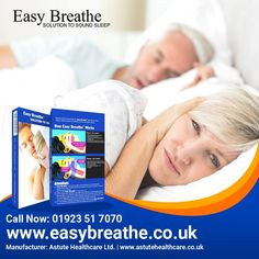Use our Anti-Snoring Easy Breathe Products and get rid from Snoring...