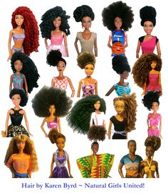 New Dolls available at Natural Girls United! http://www.naturalgirlsunited.com/natural-hair-dolls.html