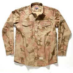 ACAPULCO GOLD* Officer's Ripstop Button Down Shirt