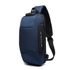 Shoulder Sling, Shoulder Bag, Nylons, Unique Romantic Gifts, Cuir Vintage, Anti Theft Backpack, Gifts For Your Boyfriend, Blue Bags