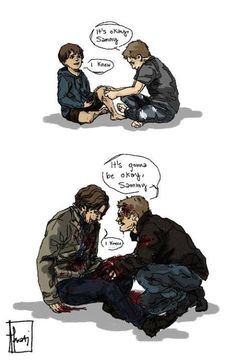 """It's ok, Sammy."" 