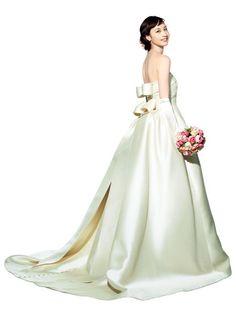 オルガンザ My Beautiful Daughter, Wedding Images, Bridal Style, Wedding Bride, Bridal Dresses, Lace Dress, Pure Products, Elegant, Formal Dresses