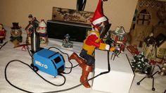 Elf on the shelf welding
