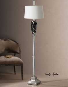 Uttermost Aberjona Dark Bronze Floor Lamp 28249