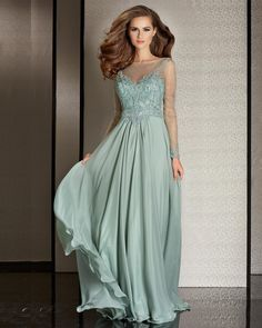 Stunning mother of the bride dress designed by Clarisse. Style: M6215. Colors: Sage & Chocolate. Sizes: 4-24