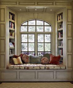 Window Seat Designs   Traditional Window Seat   Ernesto Garcia Interior Design LLC   Phoenix ...