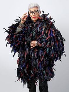 IRIS APFEL, 97 years Thank you for choosing me to be part of your special issue on collectors. Iris Apfel for Creative… Iris Fashion, Fashion Art, Working Girl, Harper's Bazaar, Advanced Style, When I Grow Up, Aging Gracefully, Gigi Hadid, Ladies Day