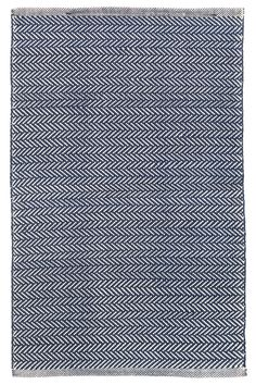 Features:  -Herringbone collection .  Primary Color: -Navy; Ivory.  Product Type: -Area Rug.  Material Details: -Polypropylene. Dimensions: Rug Size 10' x 14' -  Overall Product Weight: -32 lbs. Rug S