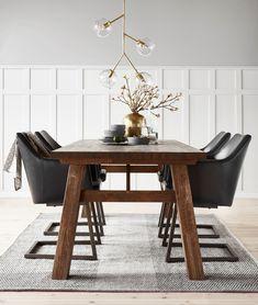 Chatham matbord med Sigge karmstol från Mio.