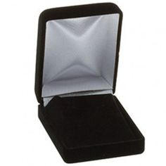 Black Pendant or Earring Nylon-Flocked Box...(ST61-7105:125819:T).! Price: $9.99 #earringbox #jewelrybox