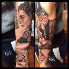 Forearm girl portrait by Bryan Vargas!
