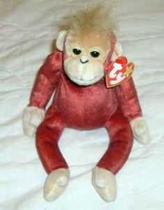 TY Original Beanie Baby SCHWEETHEART the Orangutang. 2507d193454